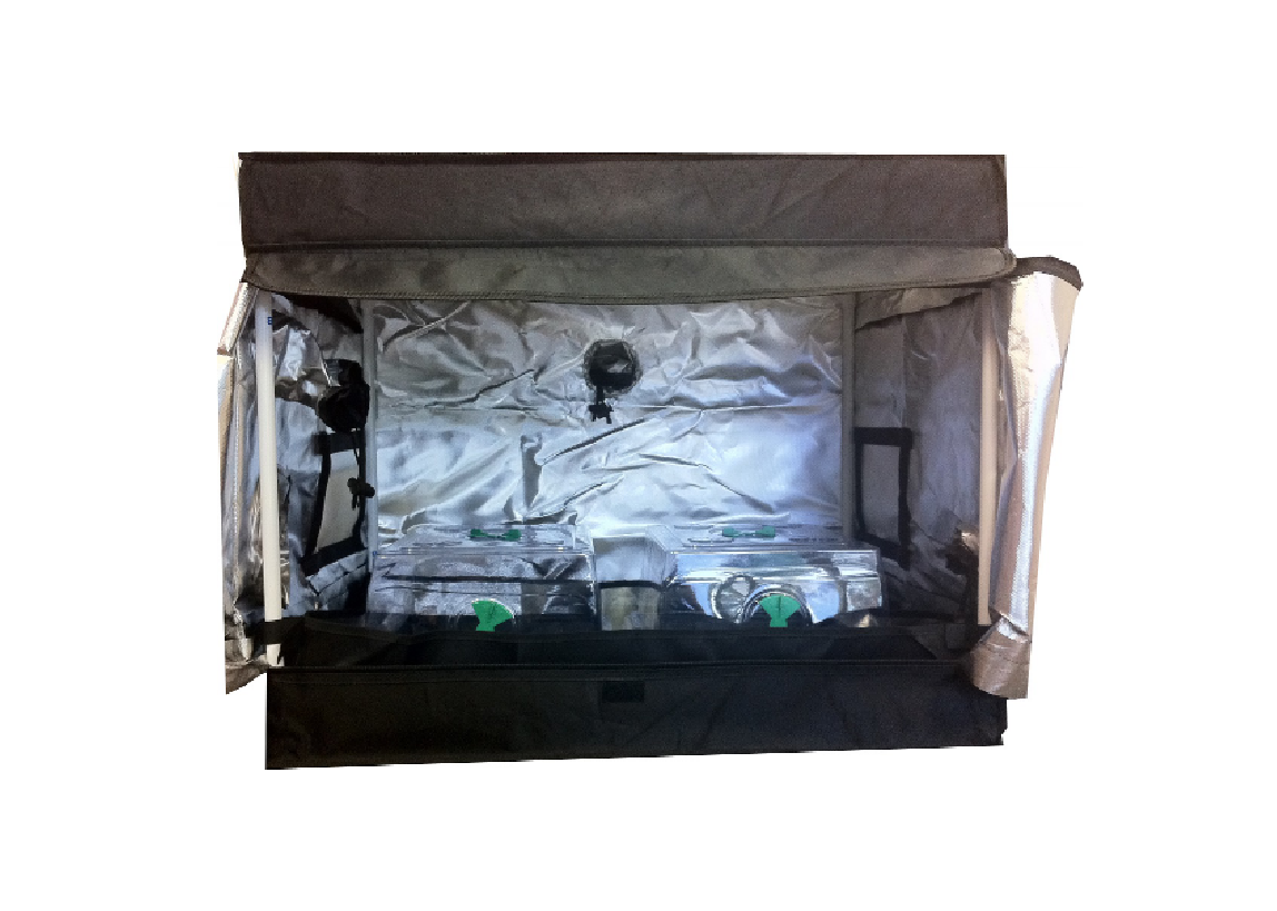 Seahawk Clone Grow Tent 75 X 50 X 60 Tent Only Gold